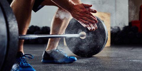 Physical fitness, Human leg, Deadlift, Leg, Hand, Exercise equipment, Weight training, Footwear, Strength athletics, Farrier,