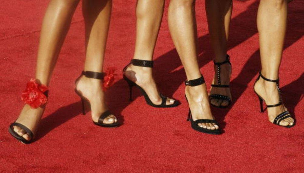 Trucje schoenen inlopen