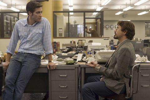 zodiac película jake gyllenhaal robert downey jr ellees