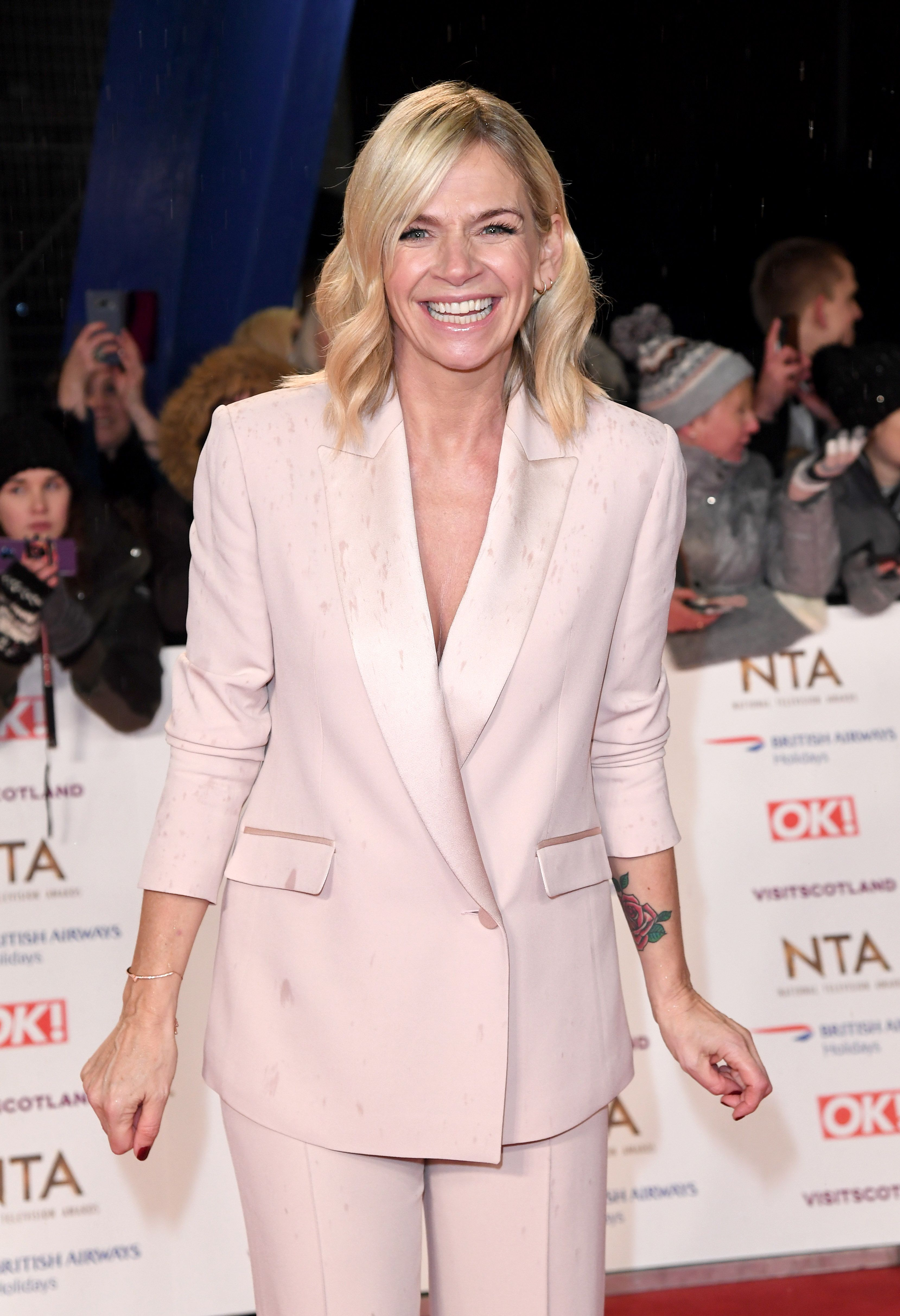 Zoe Ball is contributing to a Chelsea Flower Show garden this year