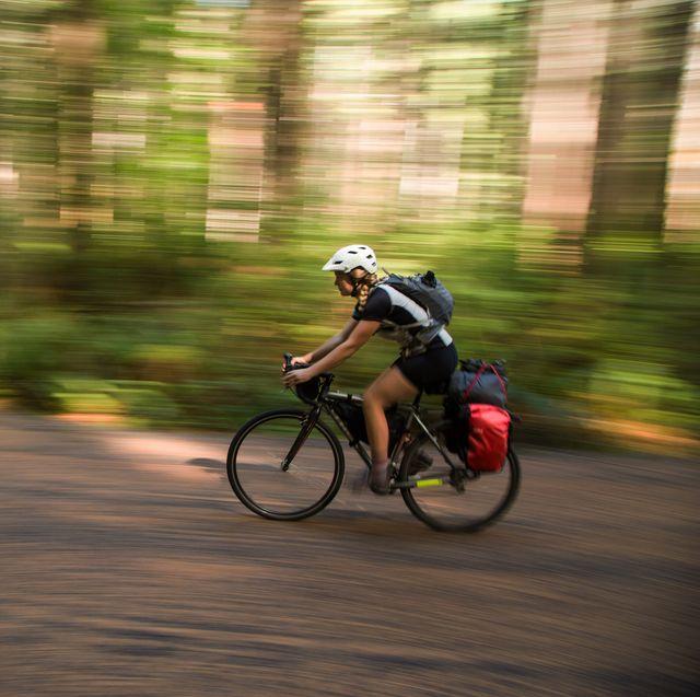 zoe zeerip bike touring