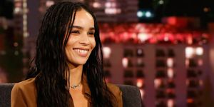 Zoe Kravitz interview - Black Opium YSL