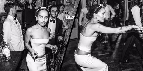Zoe Kravitz Had A Second Wedding Dress