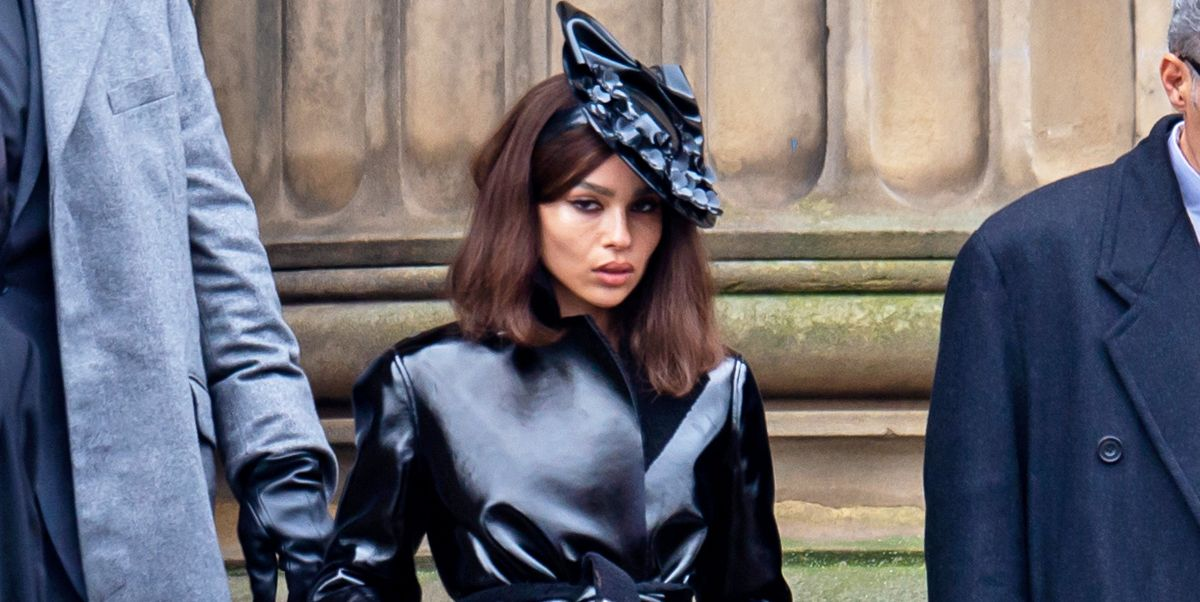 Zoë Kravitz Is the Chicest Catwoman Ever In First-Look Photo