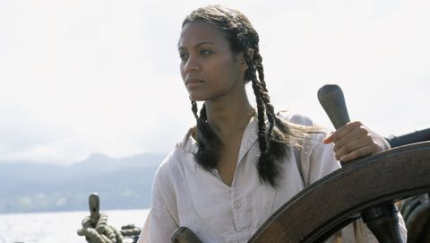 Zoe Saldana Describes Bitter Experience Filming Pirates Of