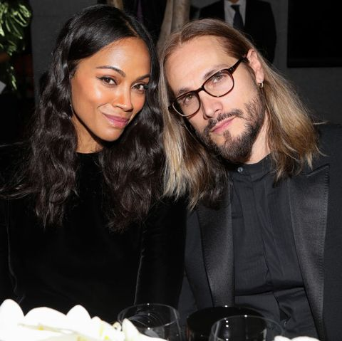 Zoe Saldana And Marco Perego S Sweet Love Story Life As