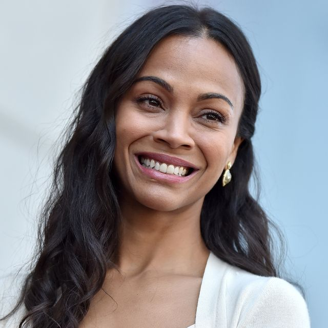 hollywood, ca   may 03  actress zoe saldana is honored with star on the hollywood walk of fame on may 3, 2018 in hollywood, california  photo by axellebauer griffinfilmmagic