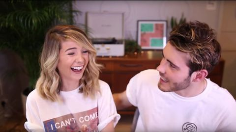 Zoella shocks us all with this very x rated t shirt zoella rude t shirt m4hsunfo