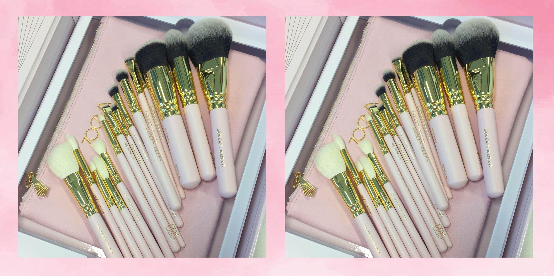 Zoeva Pink Makeup Brushes - Screen Queen