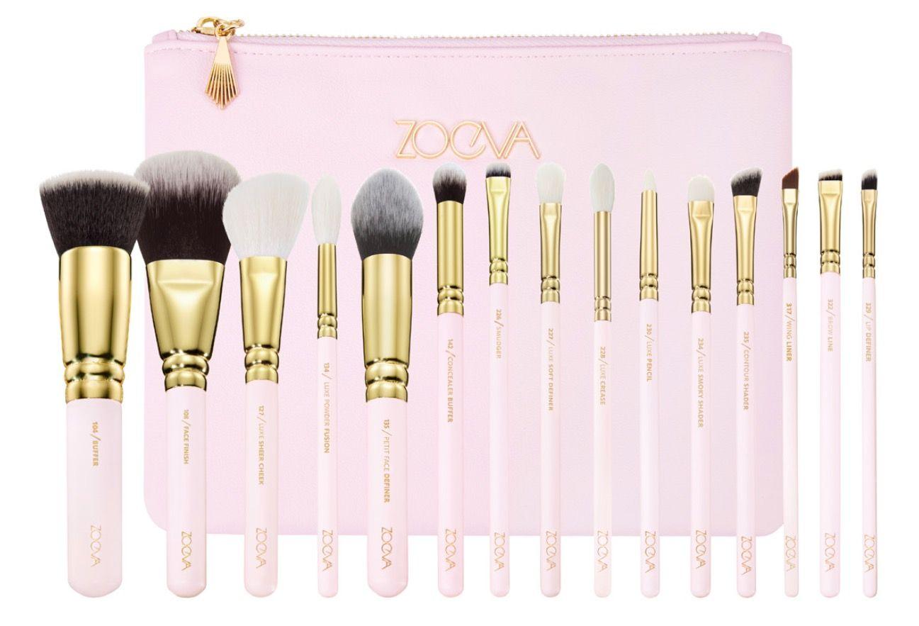 Best budget makeup brush sets uk