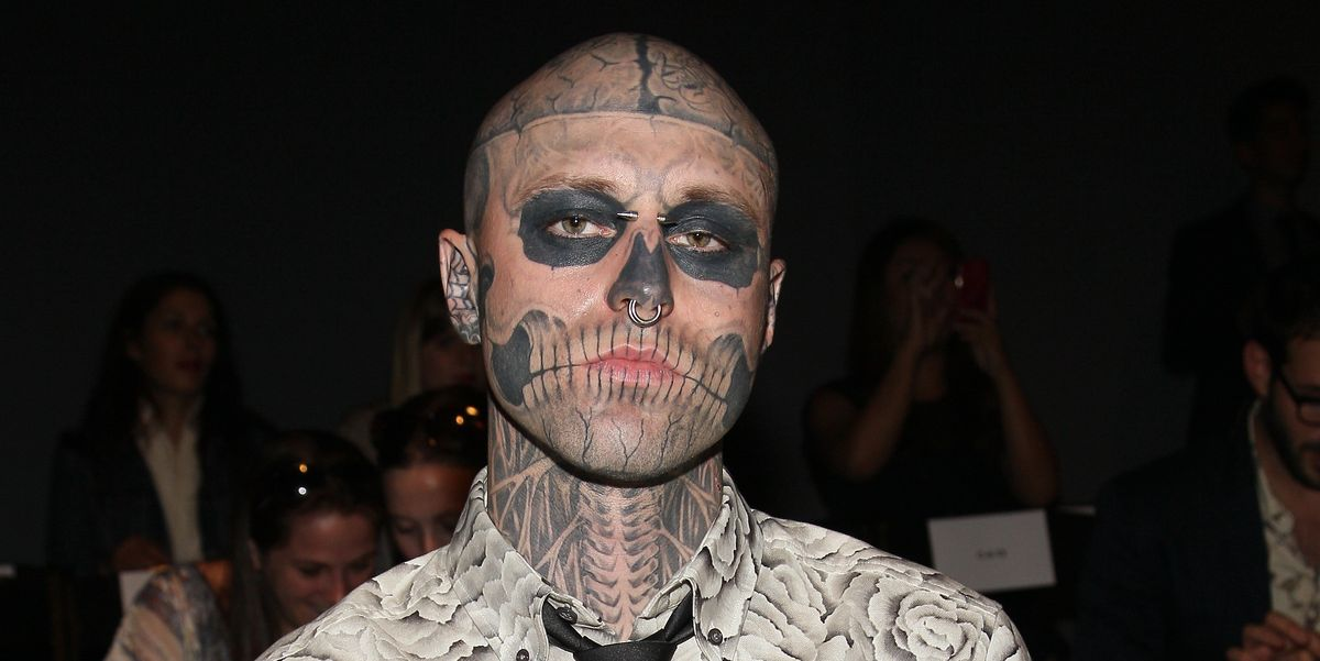 Zombie Boy Rick Genest Has Died, Aged 32-8221