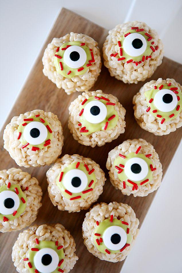 10+ Rice Krispie Halloween Desserts , No Bake Rice Krispies