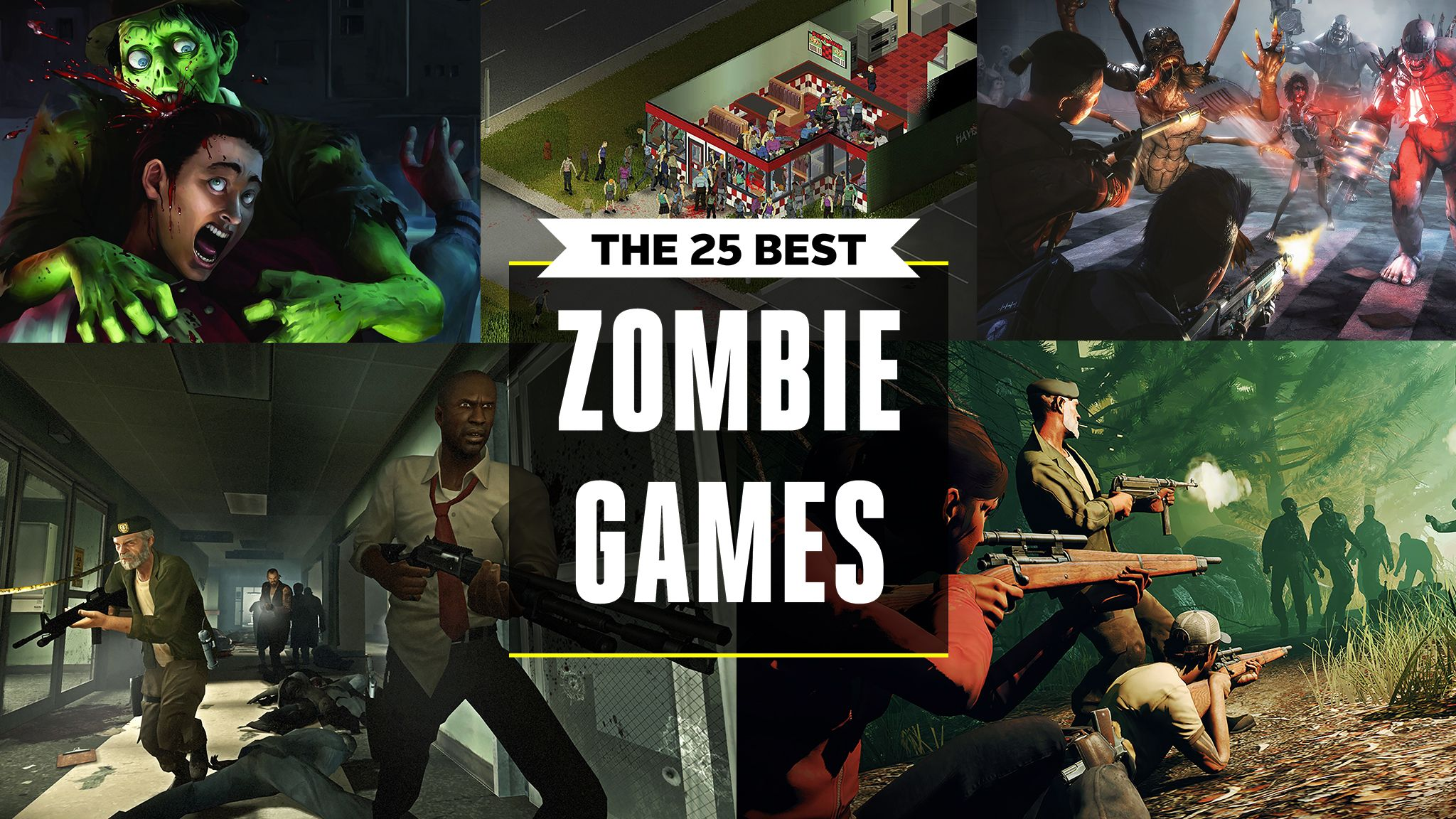 The 25 Best Zombie Games
