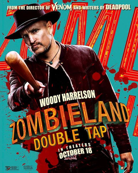 Zombieland: Mata y remata cartel personaje