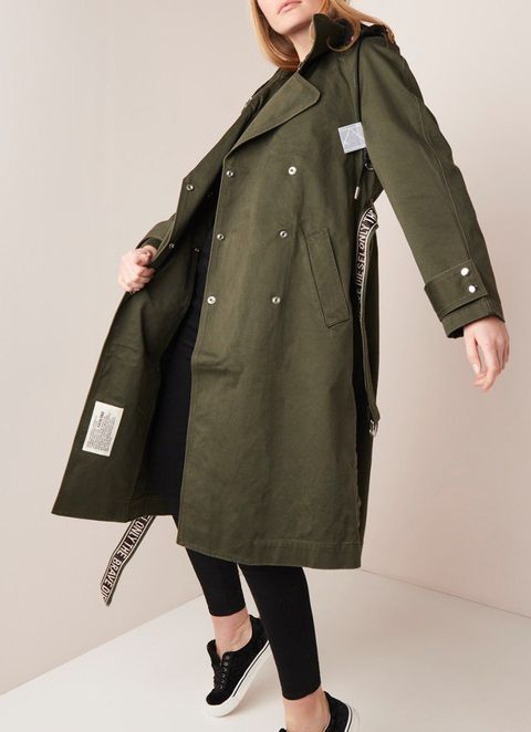 Zomerjas dames, trench coat