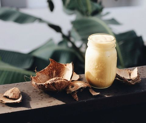 mango smoothie met kokos
