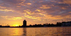 zonsondergang-amsterdam