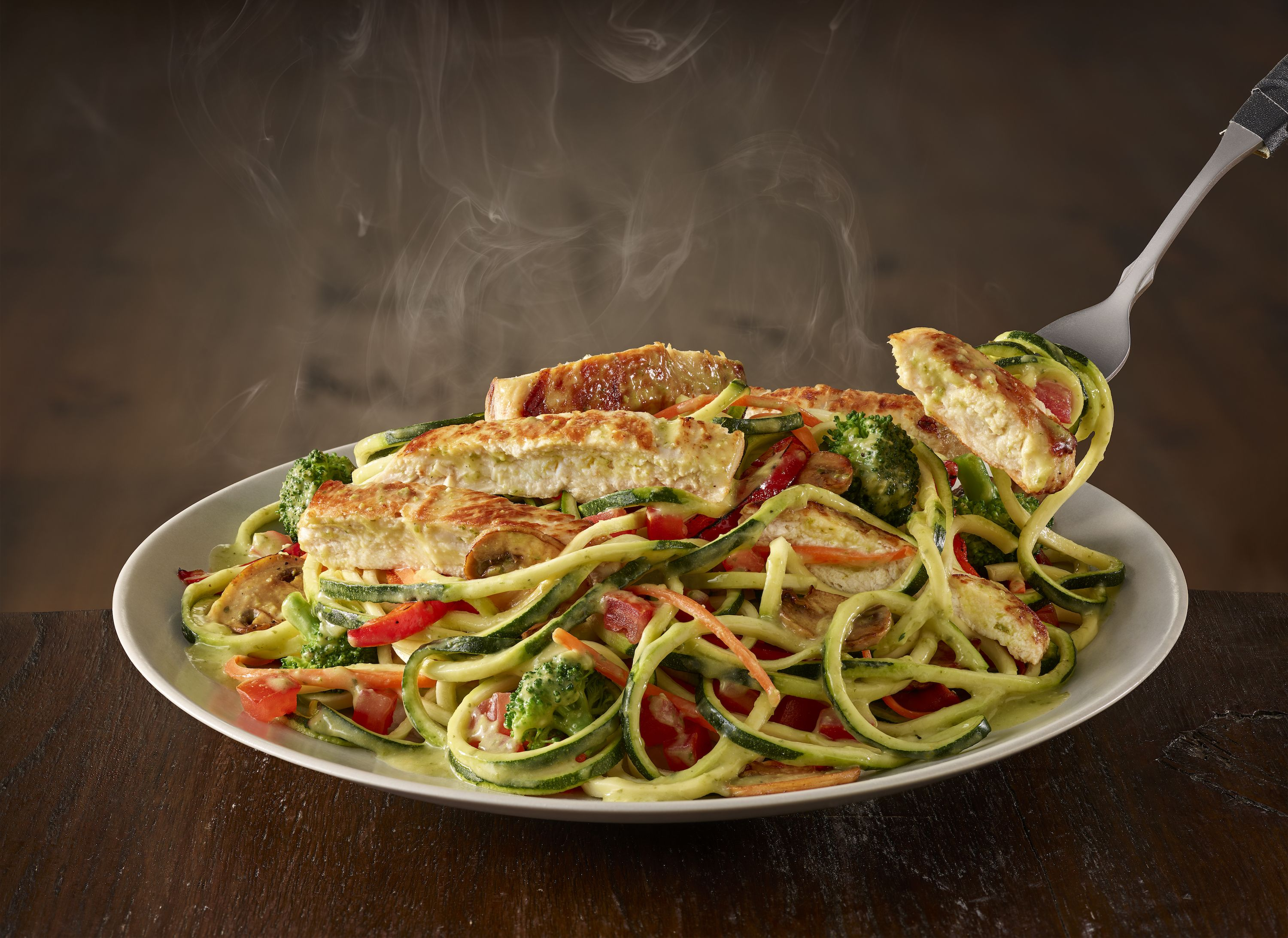 Olive Garden Adds Zoodle Primavera To Menus For Summer