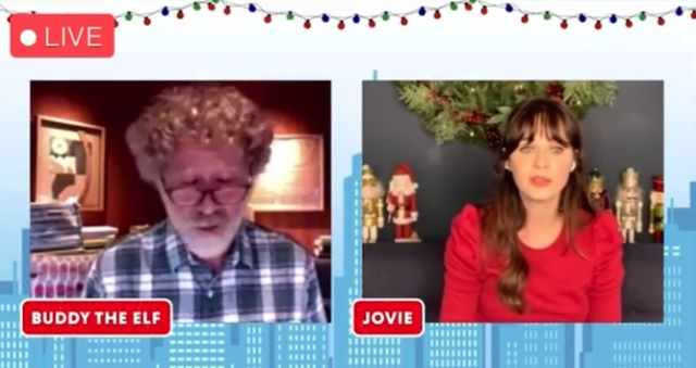 "Zooey Deschanel and Will Ferrell Just Reenacted The Iconic Bathroom Scene From ""Elf"""