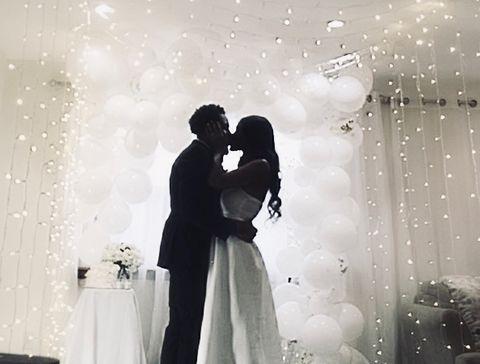 Photograph, White, Sky, Black-and-white, Snapshot, Bride, Monochrome photography, Love, Romance, Standing,