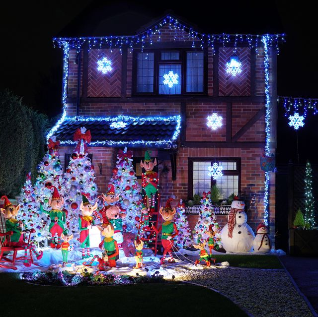zoopla has crowned  a house in reading as the uk's most festive home this christmas