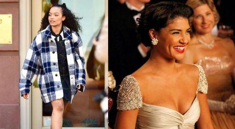 gossip girl casts comparison