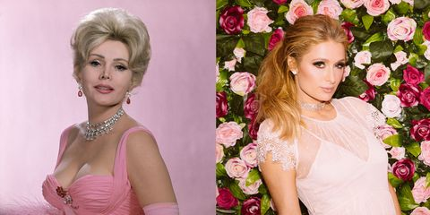 zsa zsa gabor is the great aunt of paris hilton