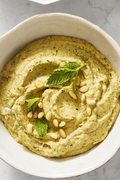 best vegan recipes   zucchanoush dip