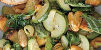 Media: Zucchini with Almonds and Croutons