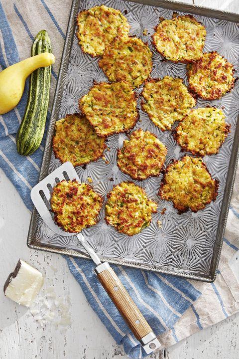 zucchini and pecorino fritters