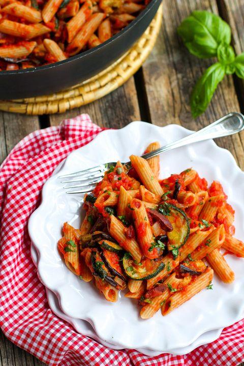 zucchini recipes puttanesca pasta