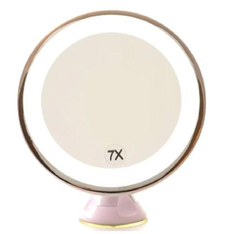 zuignap led 7x vergrotend staande spiegel douglas spiegels