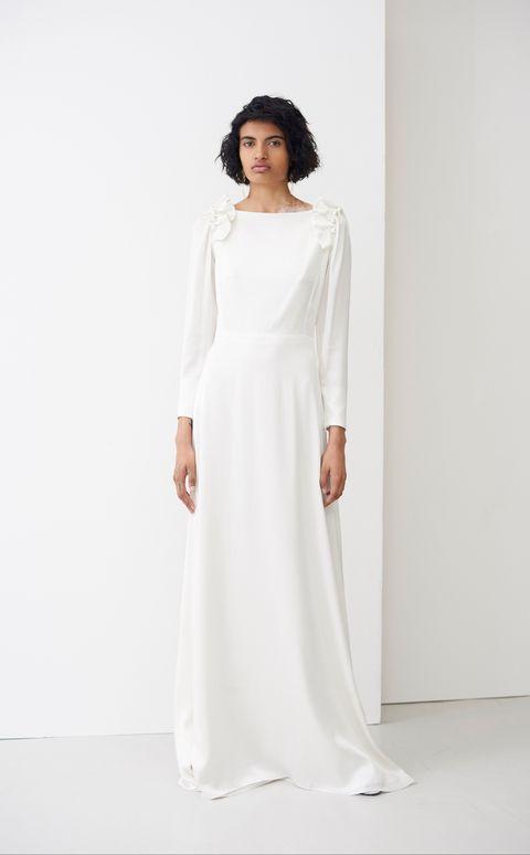 best affordable wedding dress - high street wedding dress