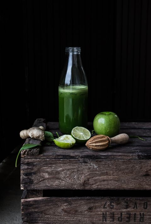 Zumo verde detox