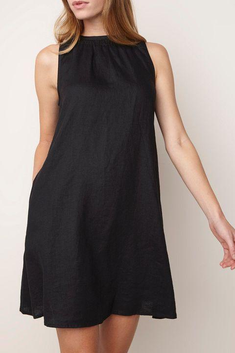 Zwarte jurk Benetton