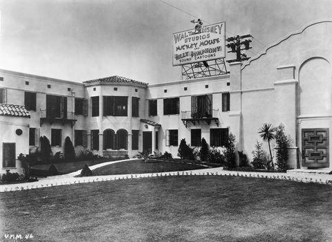 Walt Disney Studios in Los Angeles, 1929-1939