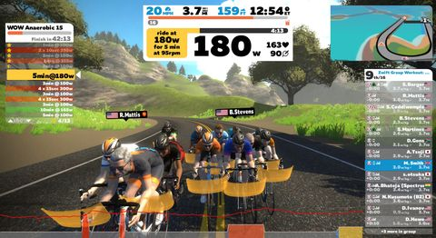 How to Train With Zwift, According to a 3-Time Olympic Gold Medalist