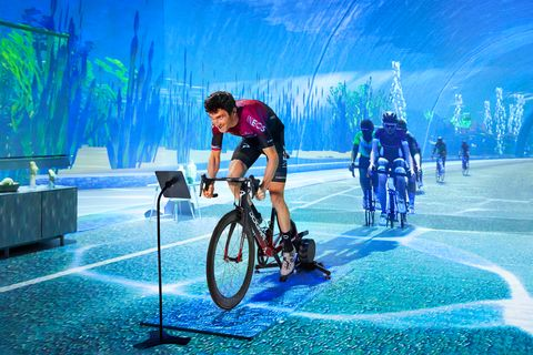 8 Things We Learned Riding With Geraint Thomas on Zwift