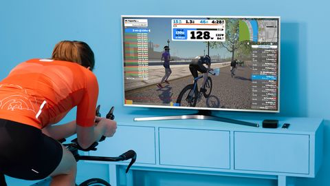 how to race on zwift