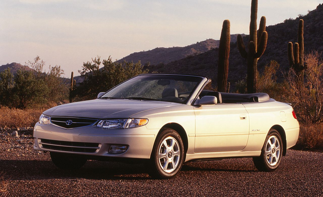 2000 Toyota Camry Solara Convertible Road Test 8211 Review Car And Driver