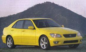 1999 lexus is200 weight