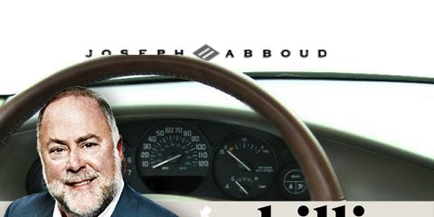 Mode of transport, Transport, Speedometer, Beard, Gauge, Coat, Suit, Blazer, Facial hair, Steering wheel,