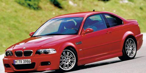 2001 BMW M3 &#8211
