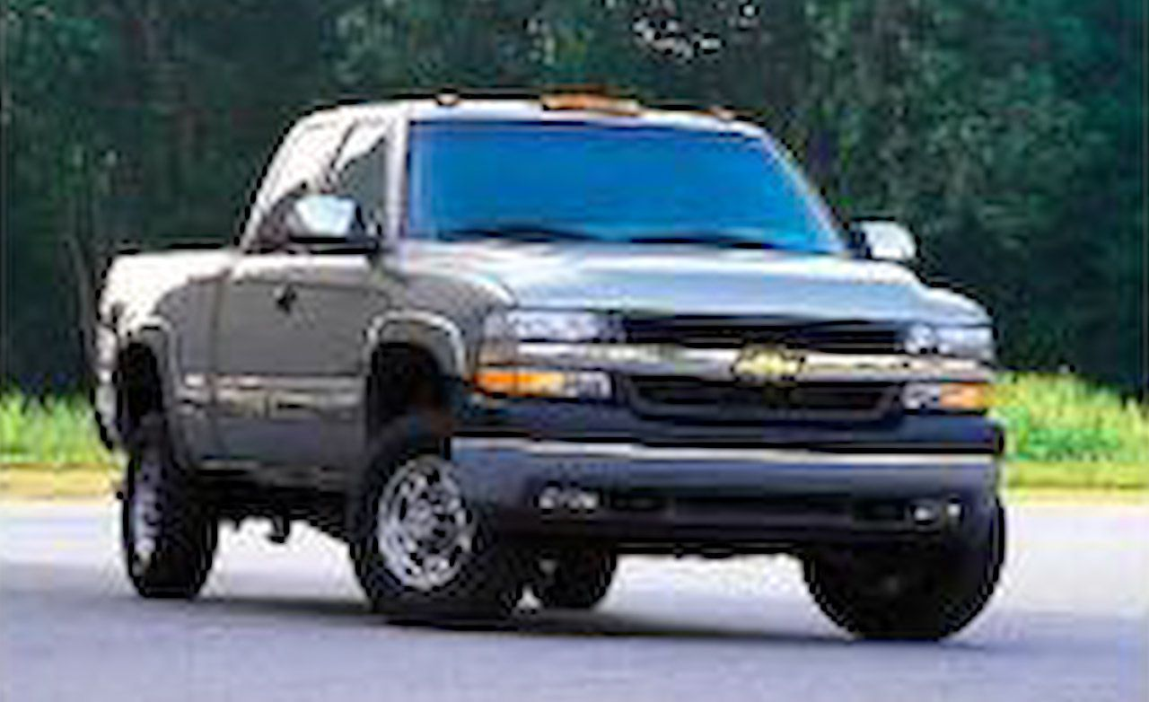 2003 chevy 2500hd transmission specs