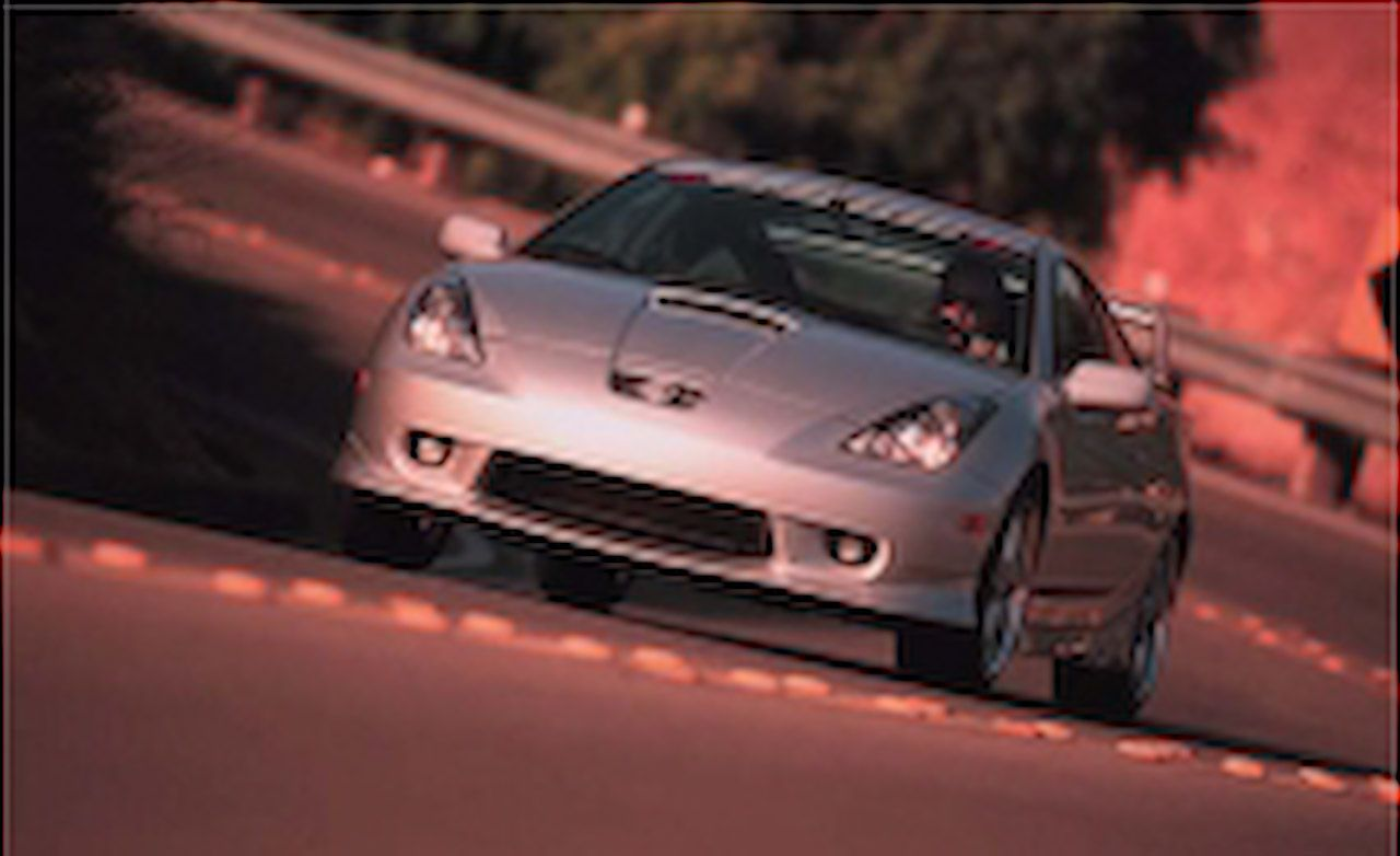 Tested 2000 Trd Toyota Celica Gt S
