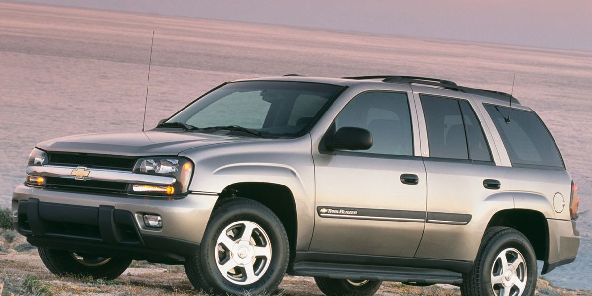 2002 Chevrolet Trailblazer Gmc Envoy Oldsmobile Bravada