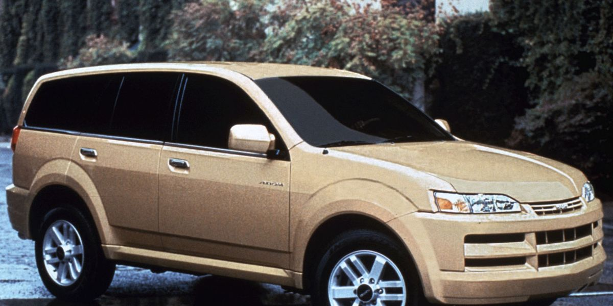 2002 Isuzu AxiomCar and Driver