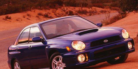 2002 Subaru Impreza WRX Road Test –