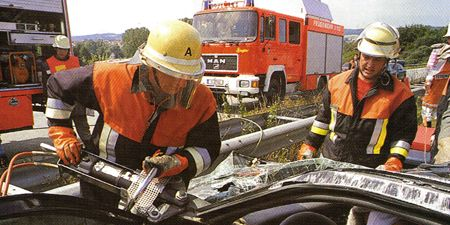 Motor vehicle, Helmet, Workwear, Personal protective equipment, Emergency service, Job, Service, Hard hat, Blue-collar worker, Employment,