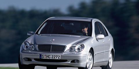 2002 Mercedes C230 Kompressor Interior